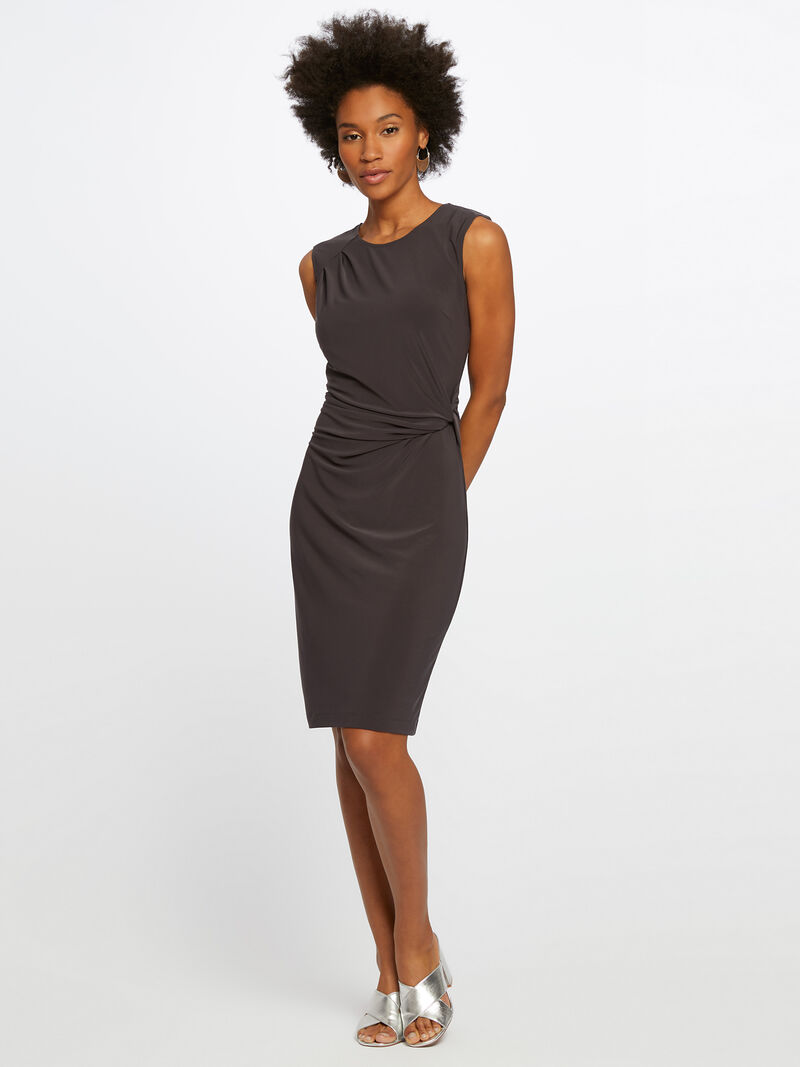 Luxe Jersey Twist Dress image number 0