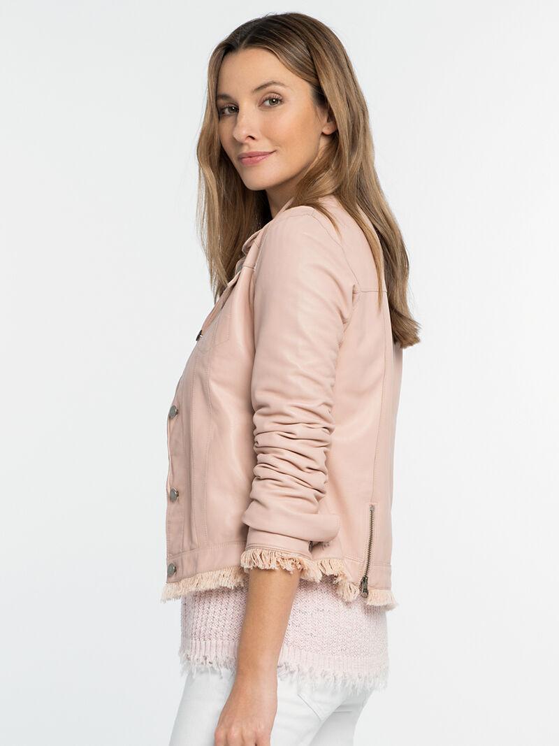 Alexa Washable Leather Jacket image number 1