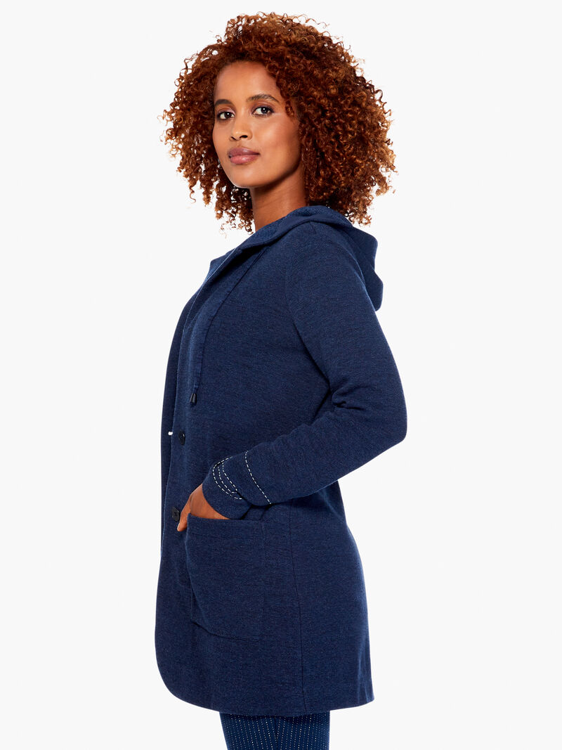 Here Or There Hooded Jacket
