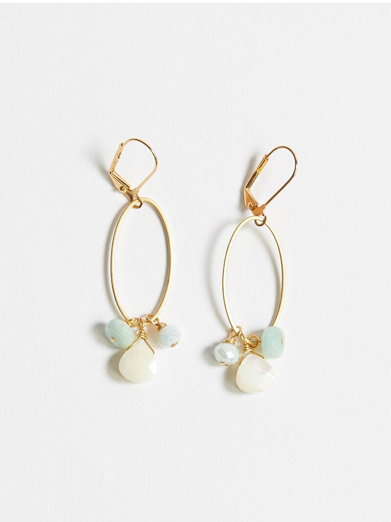 Crystal Cluster Earring