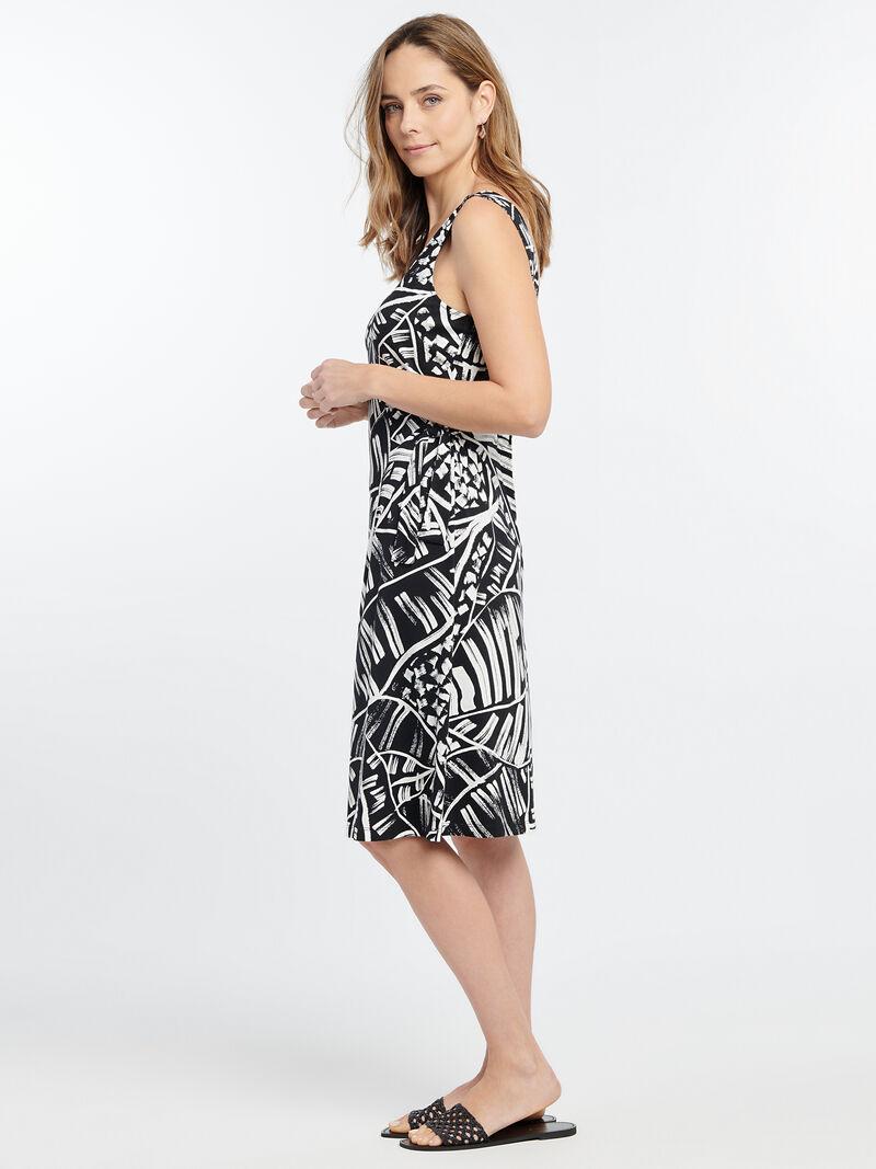MOONLIT PALM DRESS image number 2