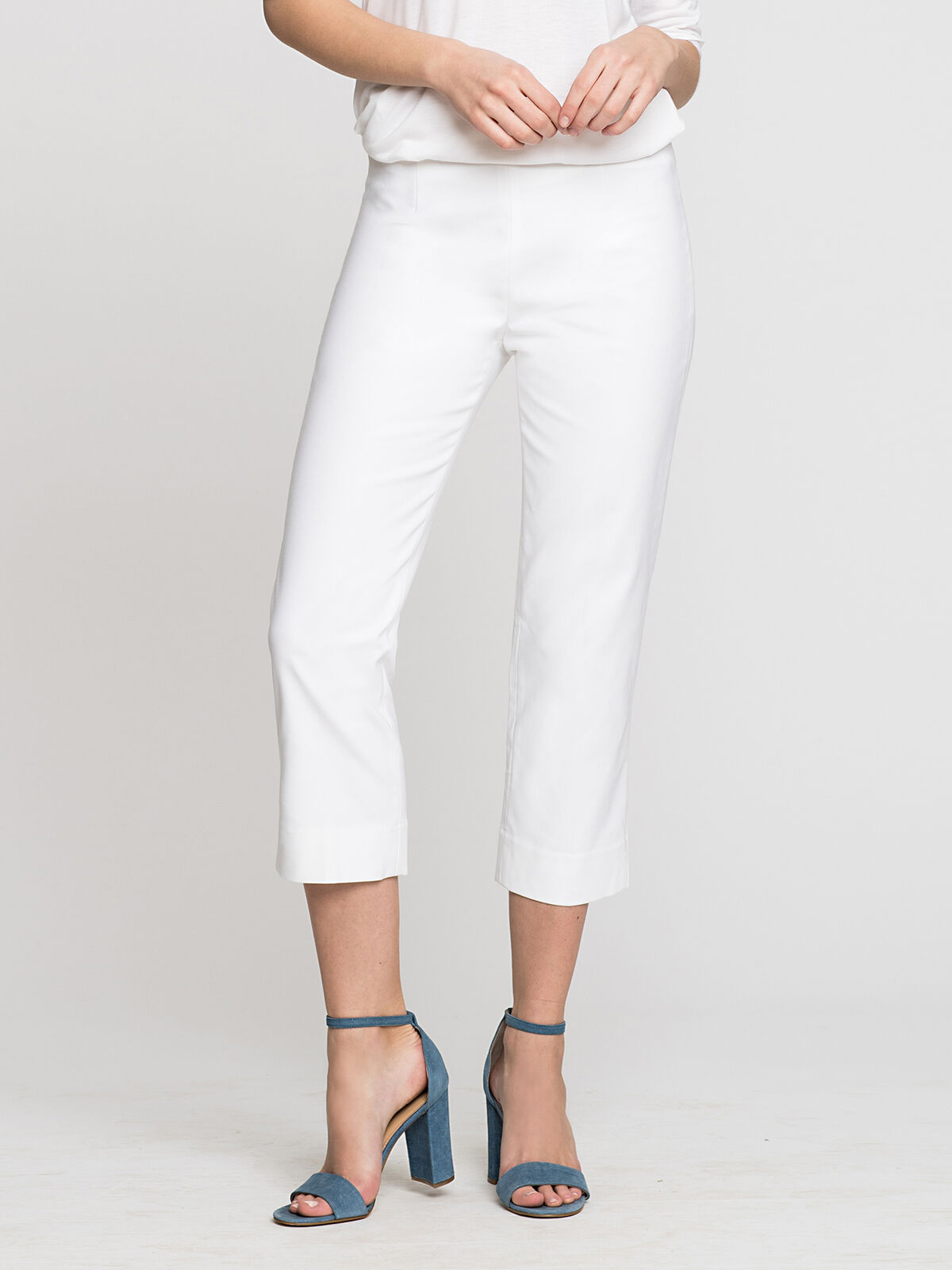 The Perfect Pant Side Zip Crop