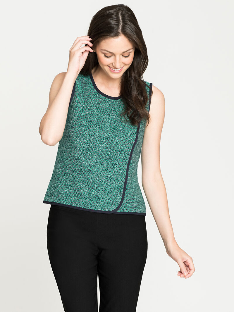 Speckled Knit Tank
