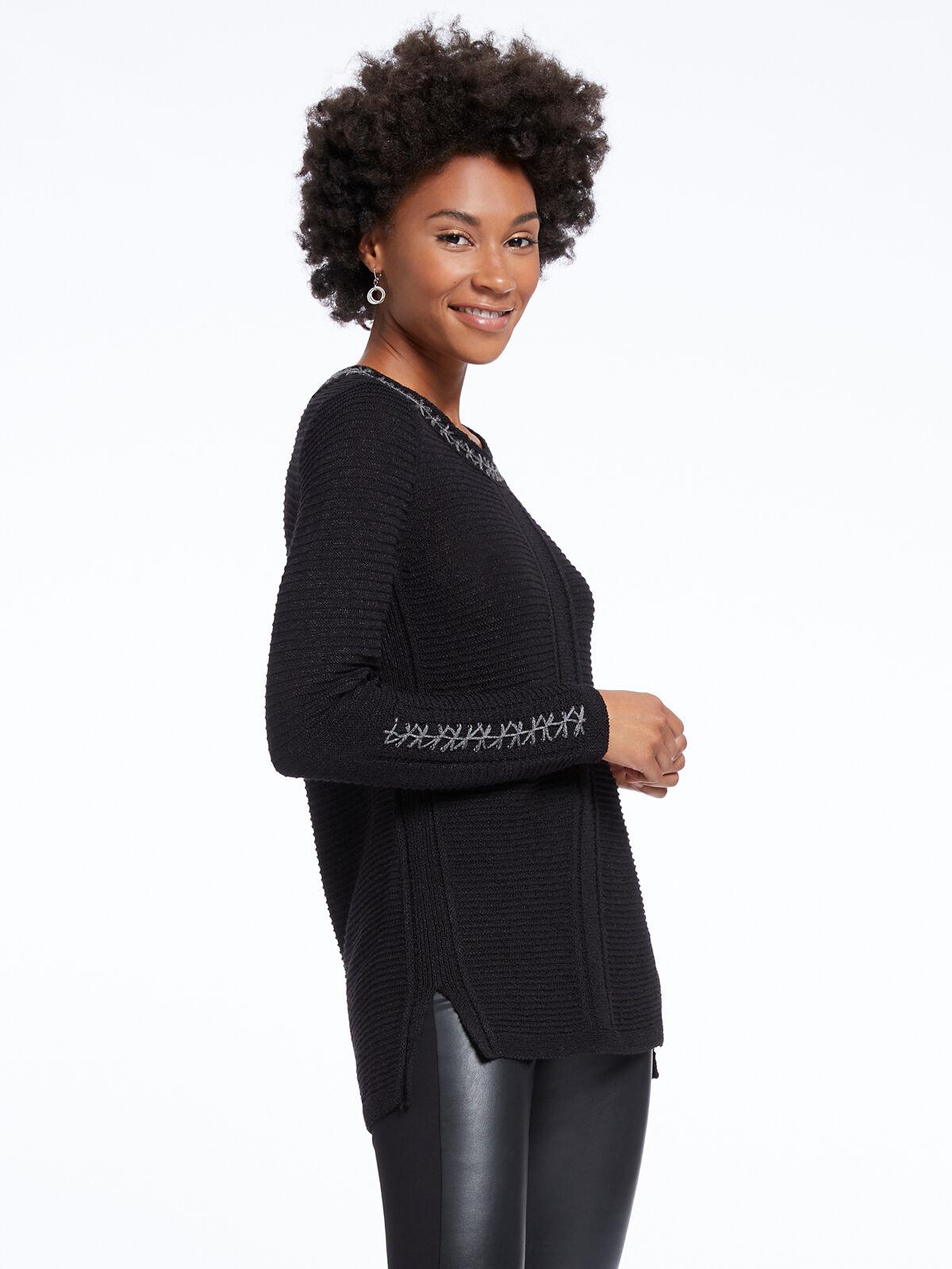 Cross Stitch Sweater