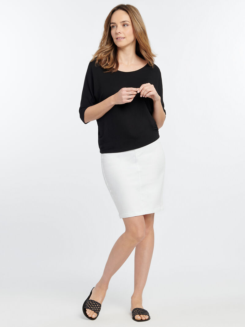 Liverpool - Chloe Pull On Pencil Skirt
