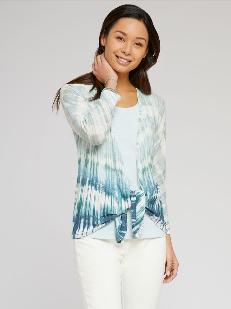 Ombre Sea 4-Way Cardigan image number 1