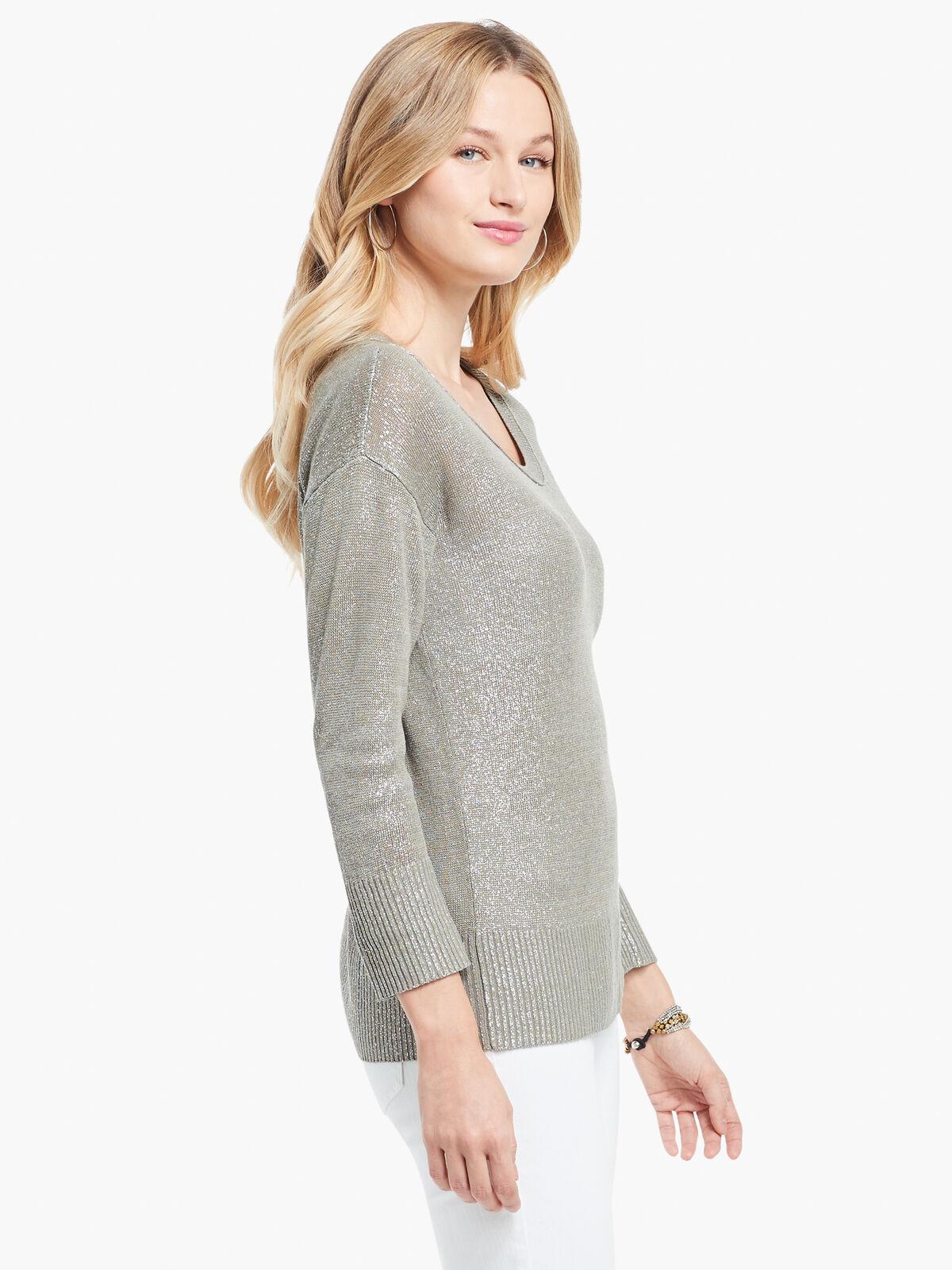 Subtle Shine Sweater