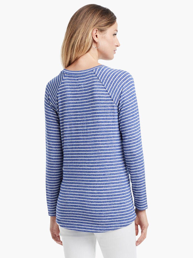 Angled Relax Stripes Top image number 2