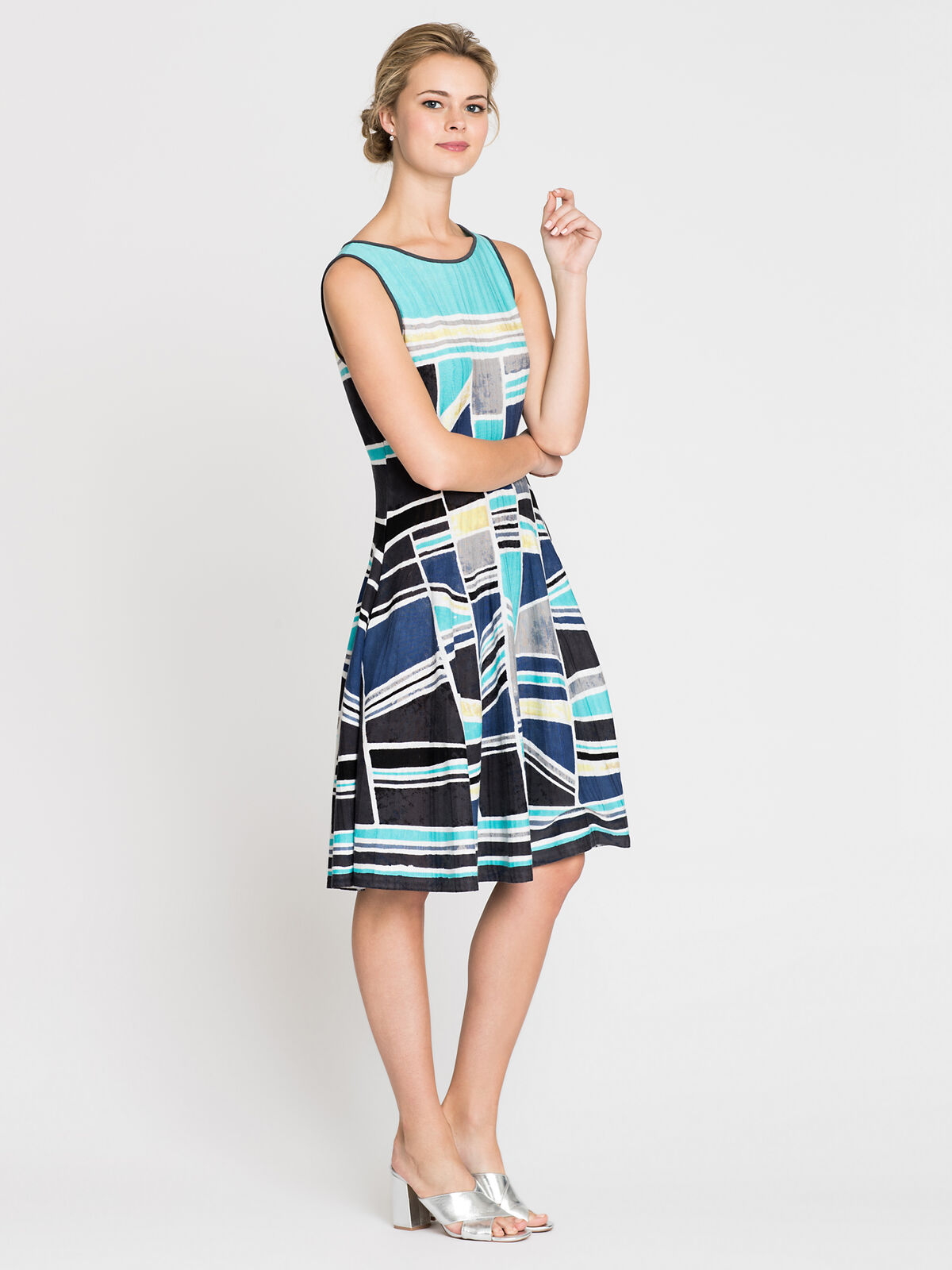 Going Places Twirl Dress
