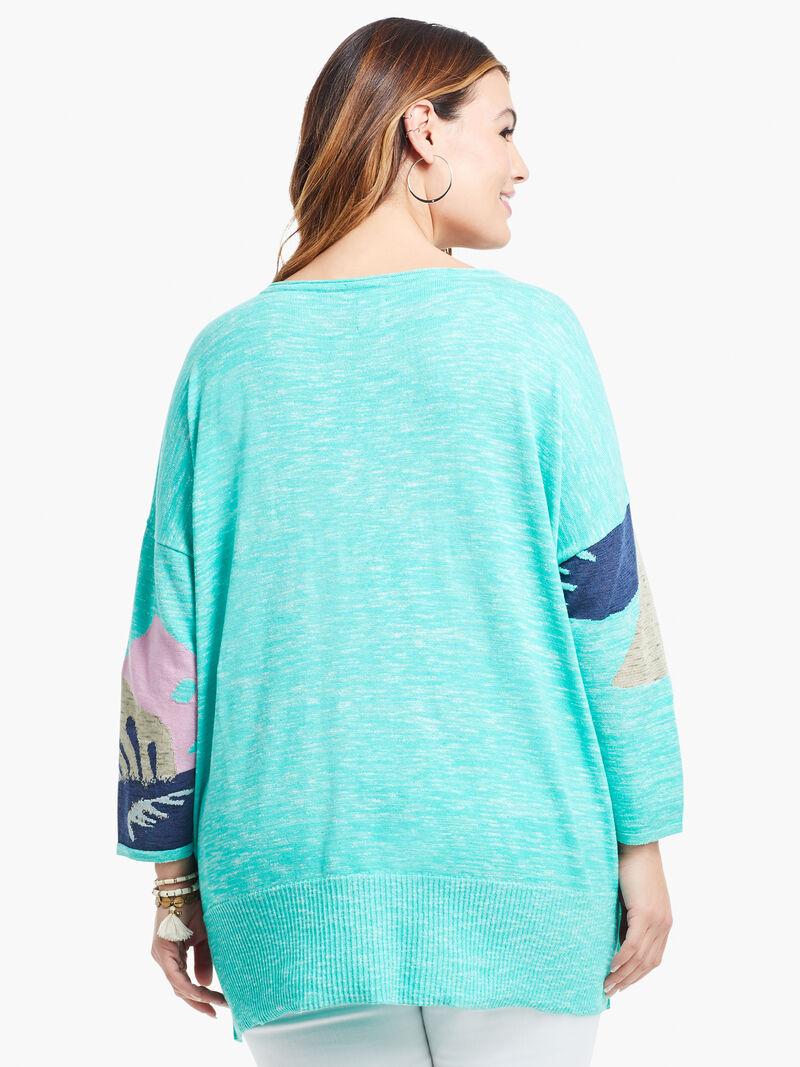 Petal Burst Sweater image number 2