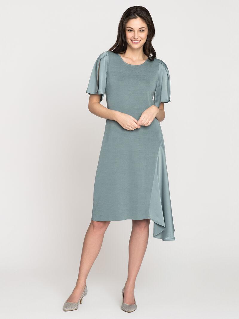 Mixed Flutter Dress image number 0