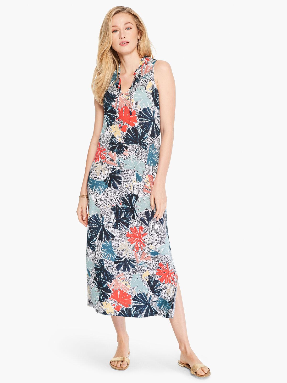 Fan Dot Dress