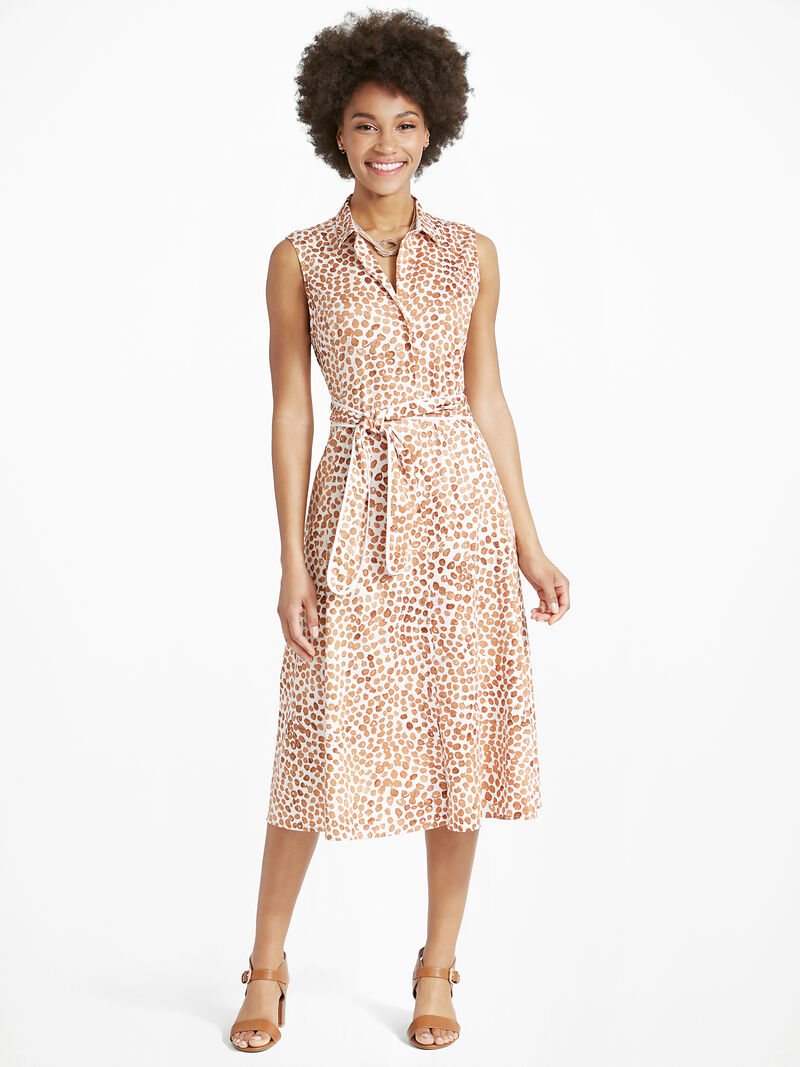Copper Kiss Shirt Dress image number 1