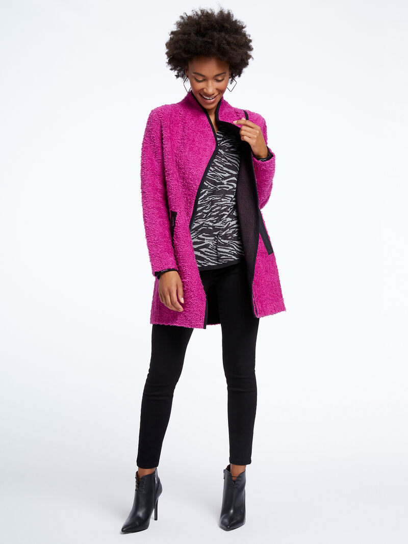 Pretty In Pink Coat image number 3