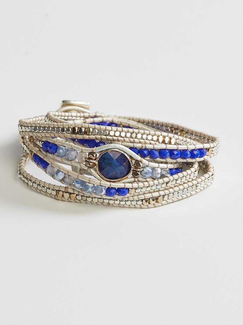 Nakamol - Blue Wrap Bracelet