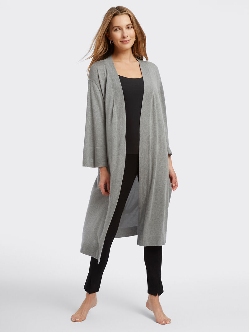 Naadam Cashmere Blend Robe image number 0