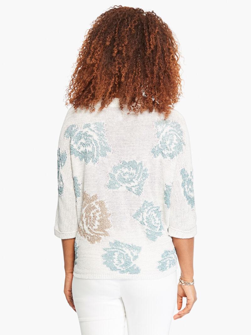 Shimmer Bloom Sweater image number 3