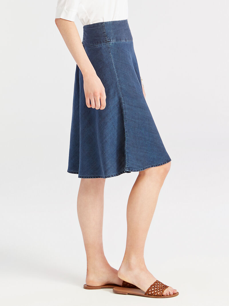 Summer Denim Fling Flirt Skirt image number 2