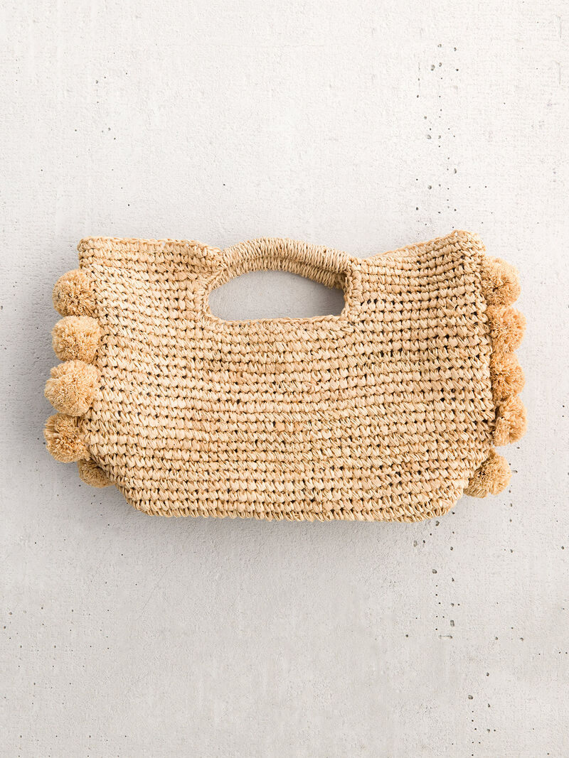 Hat Attack Handheld Straw Satchel