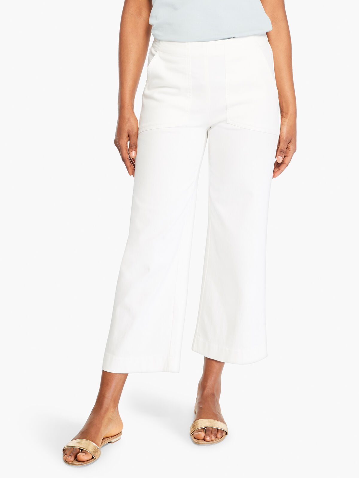 All Day Slim Wide Crop Pant