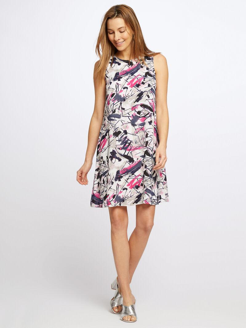 Graffiti Femme Dress