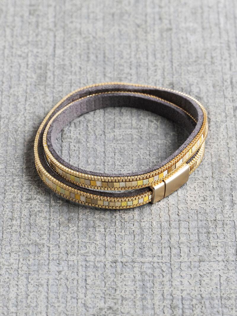 Marlyn Schiff Mosaic Wrap Bracelet image number 0