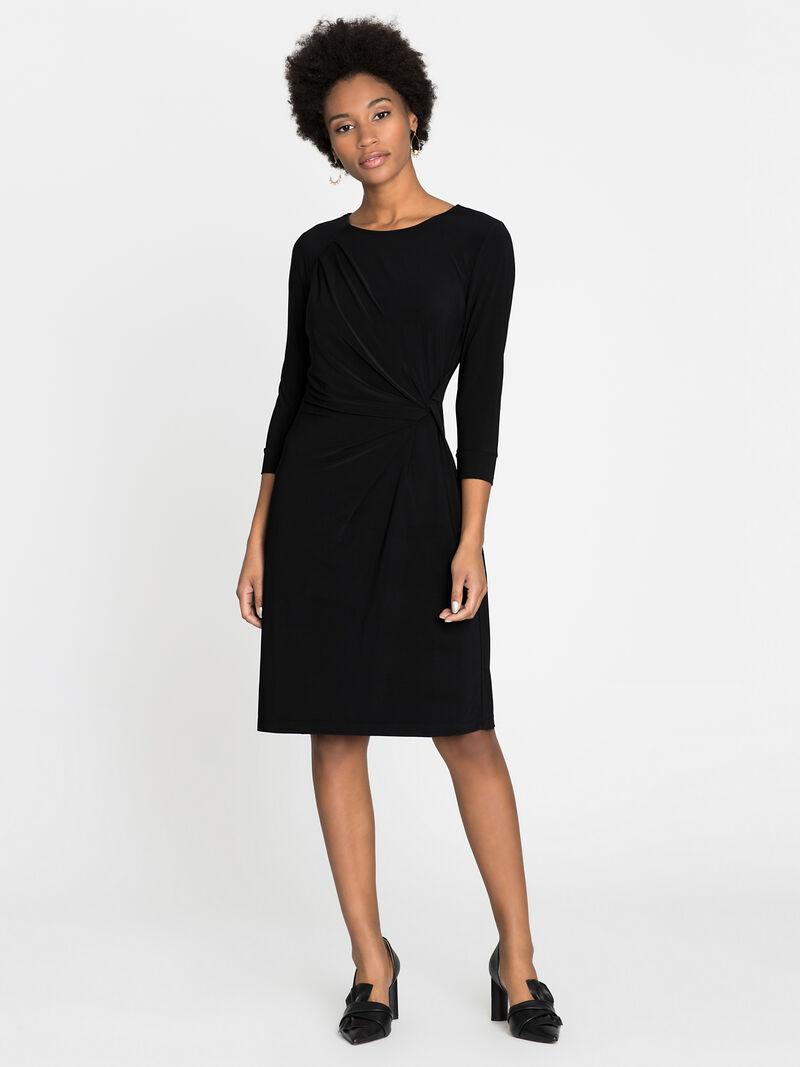 Sleeved Twist Dress image number 0