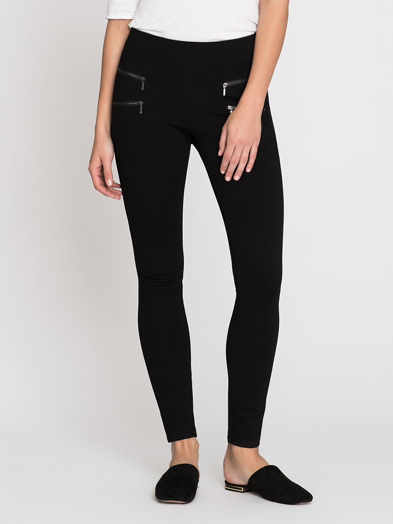 Double Zip Legging