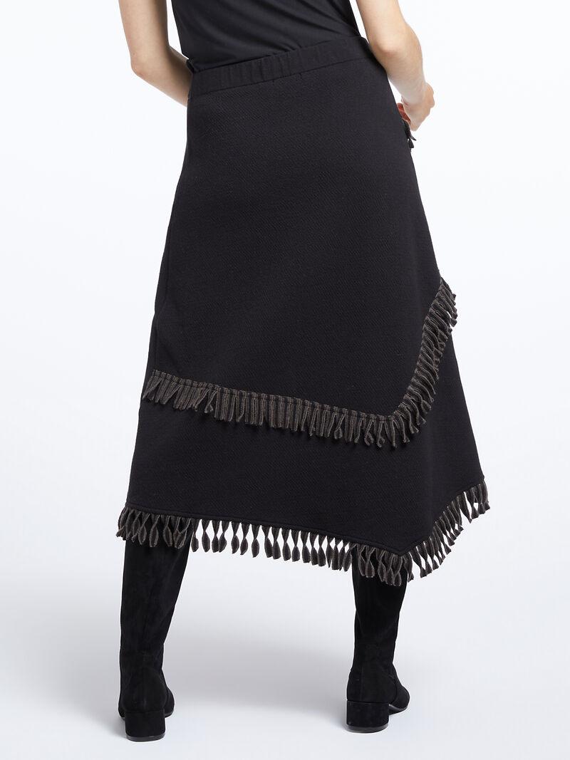 Fringe Trim Skirt image number 3