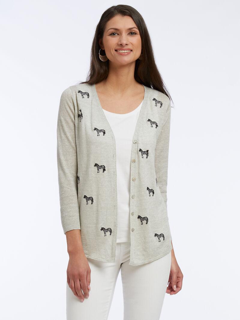 Zebra Crossing Cardigan