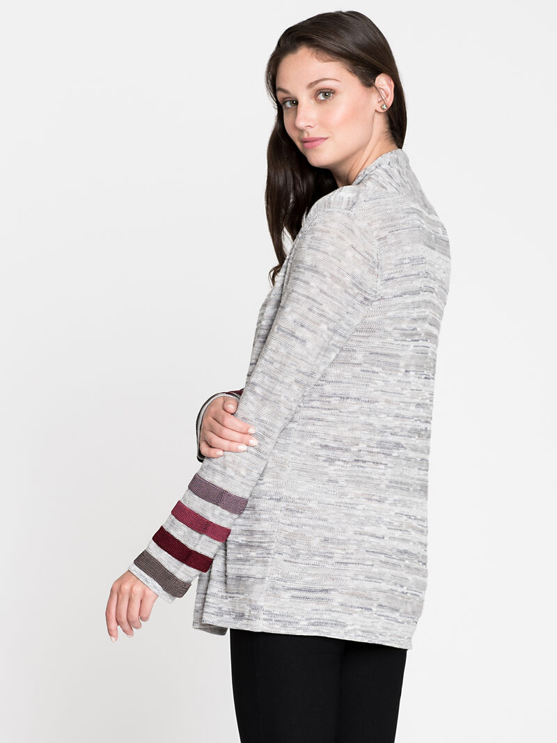 Ombre Cuff Cardigan image number 1