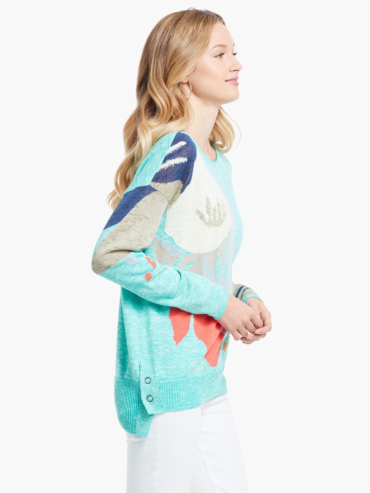Petal Burst Sweater