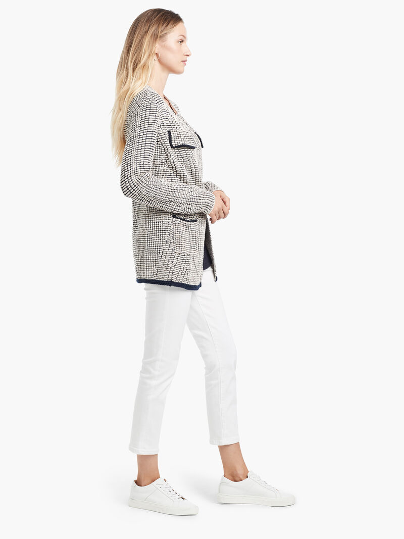 Textured Knit Jacket image number 1