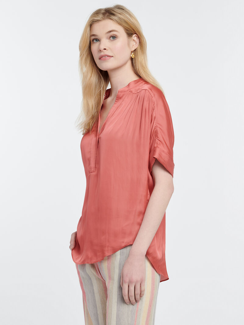 DESTINATION PEASANT BLOUSE image number 1