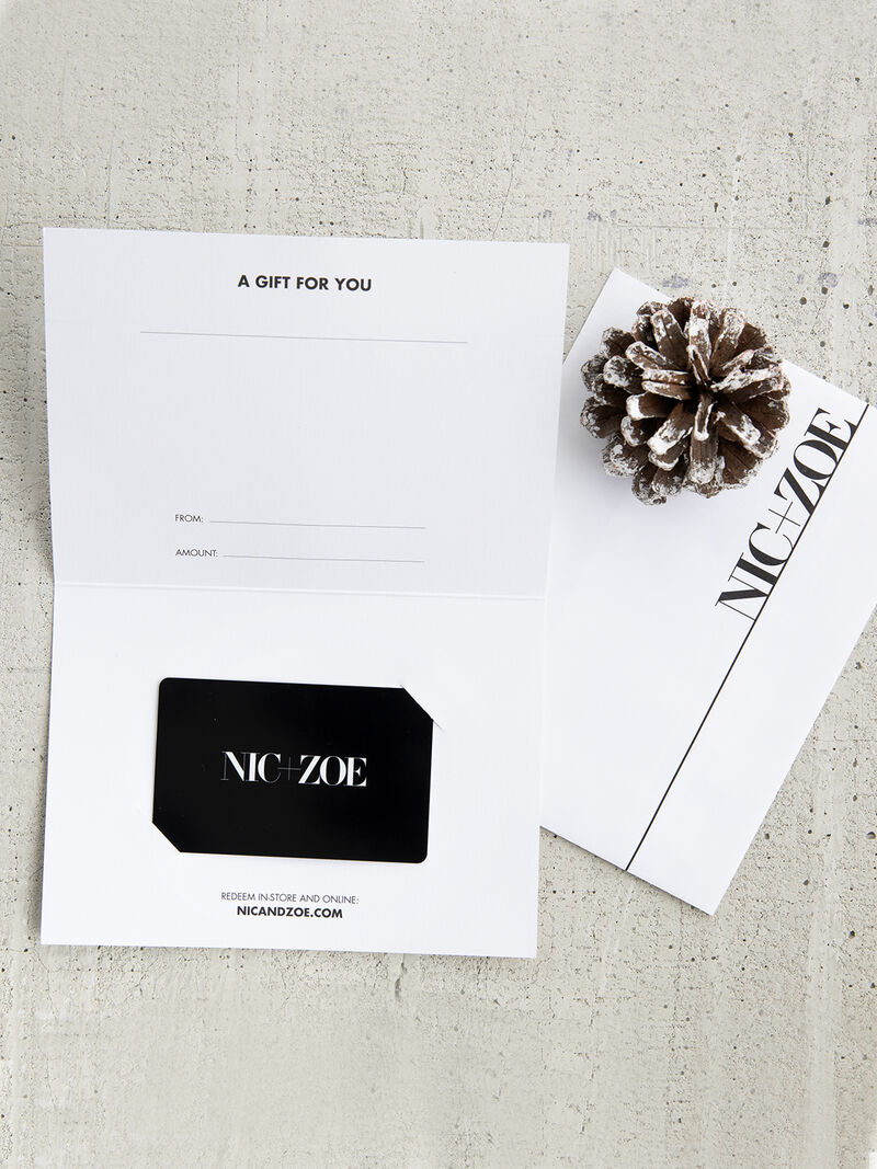 NIC+ZOE GIFT CARD image number 0