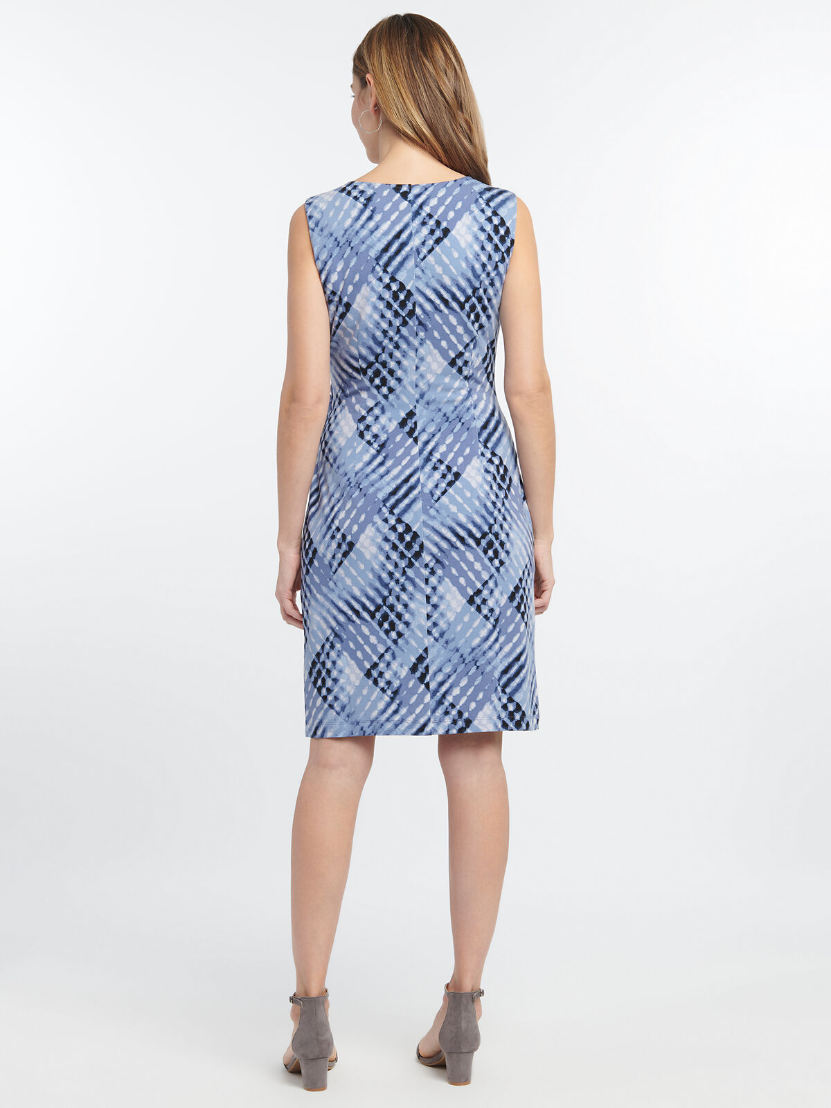 CROSS OVER TWIST DRESS