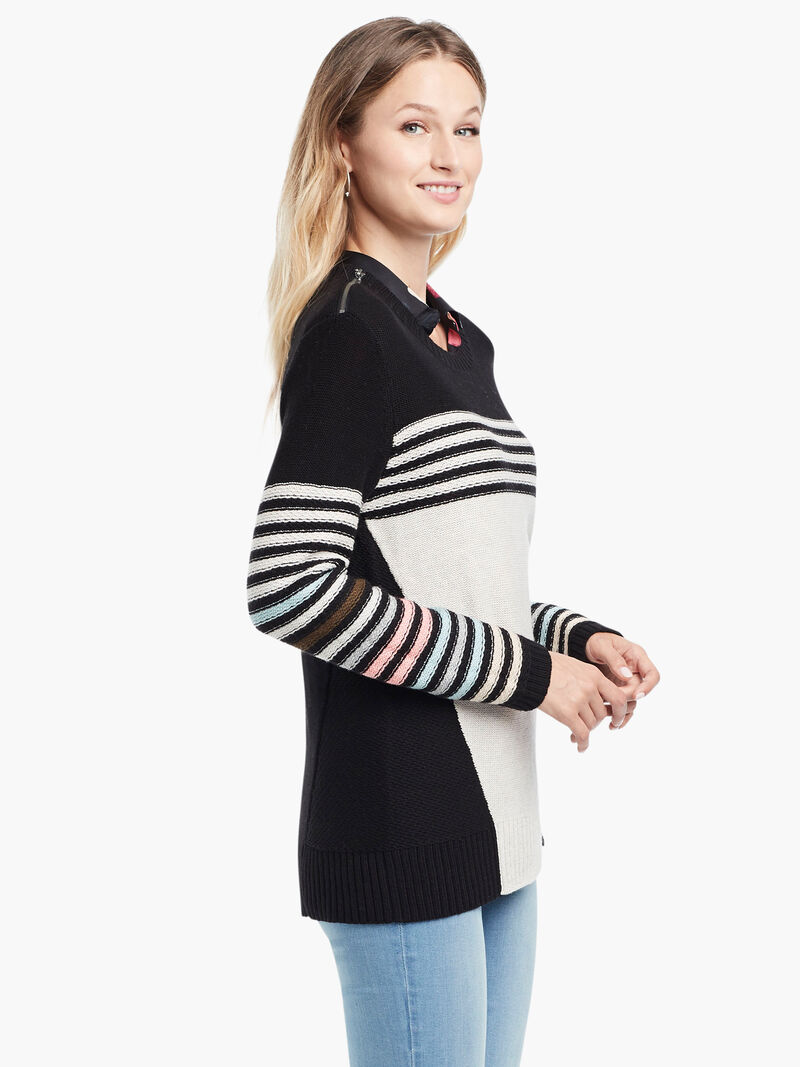 Inner Stripe Sweaterimage number 2