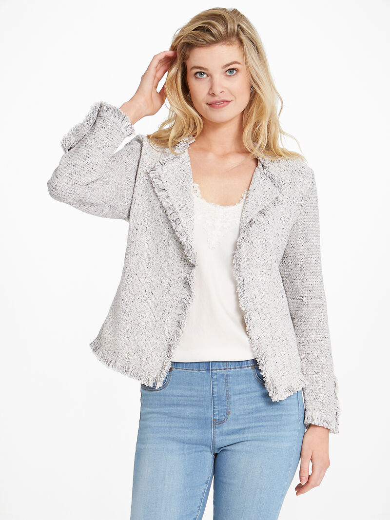 Fringe Mix Jacket