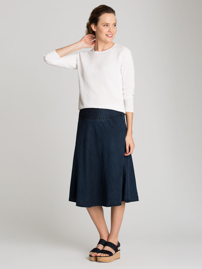 Summer Denim Fling Flirt Skirt