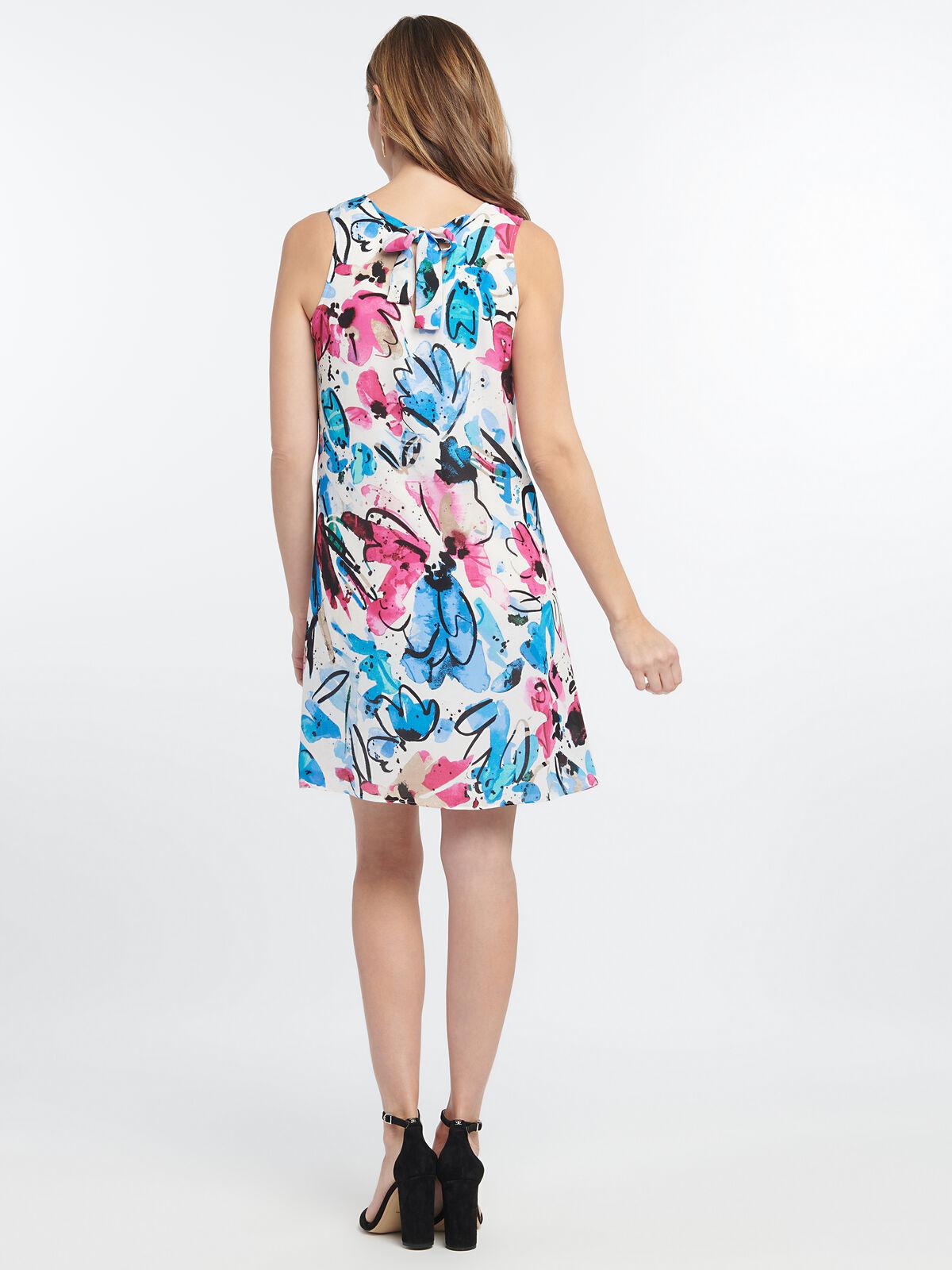 Vibrant Flora Dress