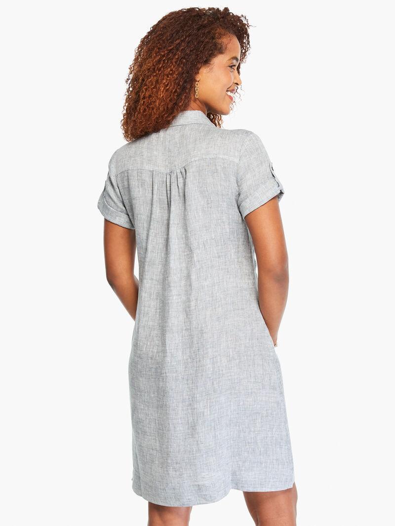 Drifty Linen Shirt Dress image number 2