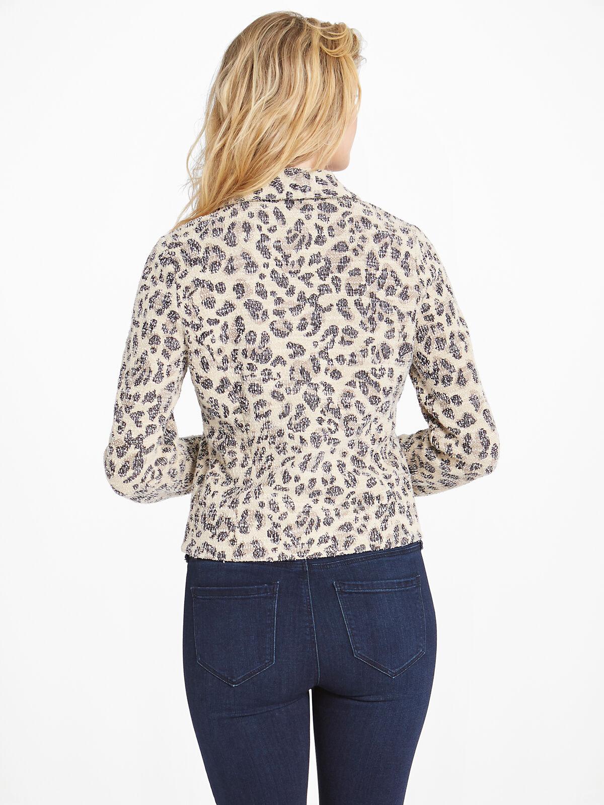 Faded Leopard Jacket