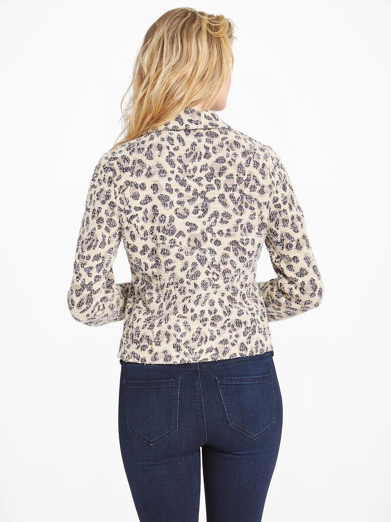 Faded Leopard Jacket image number 2